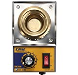 MASUNN Boveution Cm360A 100W 200-480 Degree Solder Pot Soudure Soufflante en INOX Plaque en Acier Inoxydable