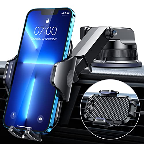 [2021 Upgraded] VANMASS Car Phone Mount [Super Suction Cup] Dashboard...