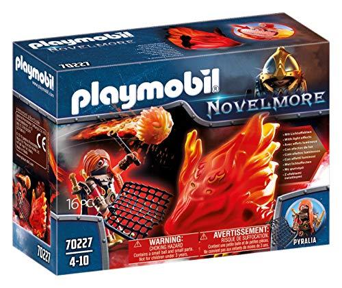 PLAYMOBIL Novelmore 70227 Burnham Raiders Feuergeist und die Hüterin des Feuers, Für Kinder von 4-10 Jahren