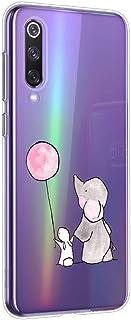 Oihxse Beschermhoes voor Samsung Galaxy A20E Beschermhoes [schattig, transparant, olifantenmotief, haas, serie] Beschermho...