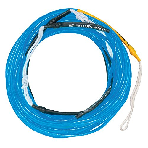 Hyperlite Silicone Line Wakeboard Rope Sz 80ft Neon Blue