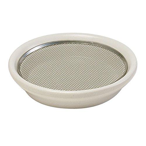 Eschenfelder Kresse- Sieb, 21,5cm ø Keramik weiß - ein MustHave