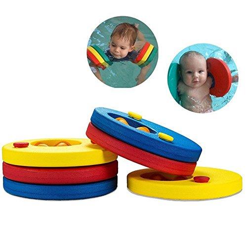 Cheap4uk Swim Float Scheiben, 1Paar 6Stück Schaumstoff Schwimmen Arm Bands Float Set Frei aufblasbar Board Schwimmen Ring für Kinder Jungen Mädchen Kleinkinder 2–10Jahre