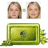 Akne Seife,Handgemachte Seife,Gesichtsseife,Teebaumöl Seife,Reinige Gesicht und Körper für alle...