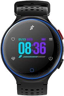 MRMRMR Smartwatch con Pulsómetro,Impermeable IP67 Reloj Inteligente con Cronómetro, Monitor de sueño,Podómetro,Pulsera Actividad para Android y iOS