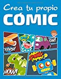 Crea tu propio cómic: 100 páginas de láminas de cómic en blanco - Versión para niños