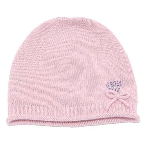 TOMAX 4345U cuffia neonata BABY T. rosa lana hat wool baby [I/29 CM]
