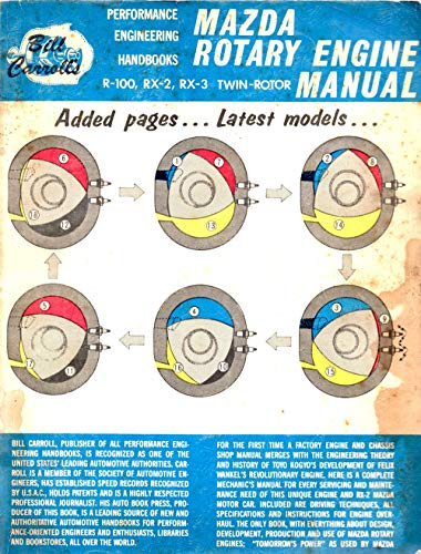 Mazda rotary engine manual. R-100, RX-2, RX-3 Twin rotor