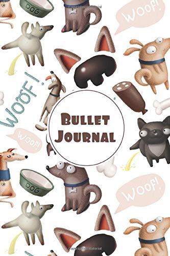 Bullet Journal: Quaderno puntinato per prendere Appunti, Lettering, Calligrafia, Scarabocchiare. Taccuino con pagine puntinate. Organizzazione e ... libro di esercizi. (Bullet Journal Animali)