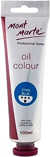 Mont Marte Oil Paint 100mls - Cyan Blue