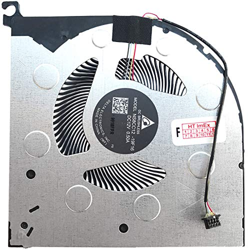 Fan Cooler GPU Version Compatible with Lenovo Legion 7i 15, Legion 7i (81YU), Legion 7i (i7-10875H), Legion 7i (i9-10980HK)
