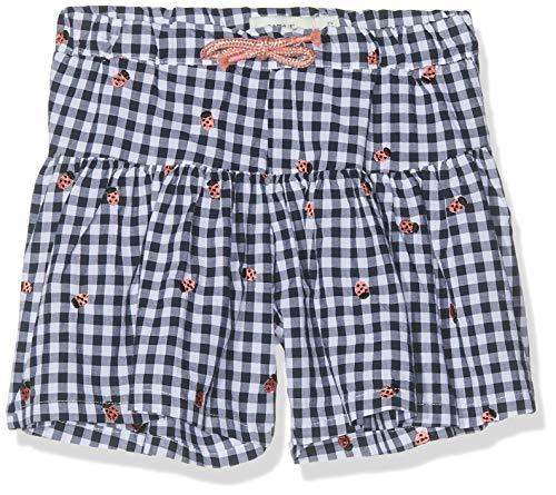 NAME IT Baby-Mädchen NMFHERMIONE Shorts, Blau (Dark Sapphire), (Herstellergröße: 92)