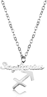 Best sagittarius symbol necklace Reviews