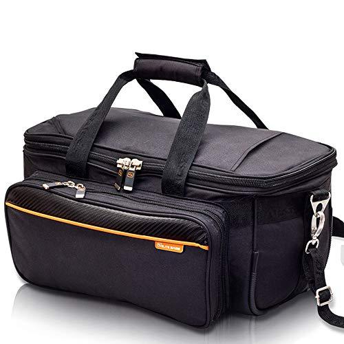 Elite Bags GP - Bolsa de médico (37,5 x 20 x 26 cm), color negro