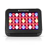 WattShine LED Grow Lights 450W Growing Lighting, UV&IR Grow Light Plant Light with On Off Switch Grow Lamp Plant Lamp for Greenhouse and Indoor Plant Grow LED Panel for Vegetables(10W LEDs 45Pcs)