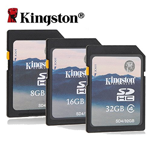 KTC Computer Technology originale Kingston 8GB SD 16GB 32GB sicura HC Memory Card digitale macchina fotografica camcorder classe di pianoforte tastiera telaio 4