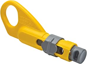 Coax Cable Stripper 2-Level, Radial, Klein's coaxial cable stripper features exclusive sliding cable stop, Klein Tools VDV...