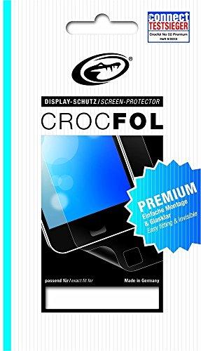 CROCFOL PREMIUM 5K HD (2er PACK) Schutzfolie für das Wiko Bloom Ultraklar & praktisch unsichtbar. ANTIBAKTERIELL (LOTUS EFFEKT) & KRATZFEST (HARD COATING). 3D Touch Folie für das Original Wiko Bloom.