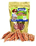 Bellyrubs Country Style Chicken Strips for Small to Large Dogs | Real Chicken Fillet Sticks | All-Natural Gluten & Grain Free Chicken Jerky Treats | High Protein Dog Training Chews | Made in USA