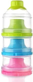 powder nest organic infant baby milk formula storage container