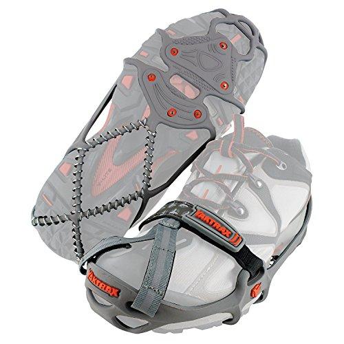 Yaktrax Unisex-Adult Run Eisspikes, Grau, Large