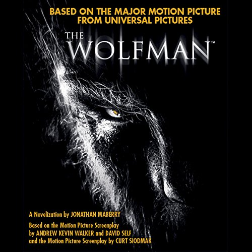 The Wolfman audiobook cover art