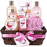 Green Canyon Spa Bad Geschenkkorb für Frauen, 10-teiliges Kirschblüte Spa Geschenksets mit...