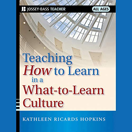 『Teaching How to Learn in a What-to-Learn Culture』のカバーアート