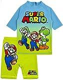 Super Mario Traje de baño de para niños UV50 protección Solar Camiseta 7-8 años