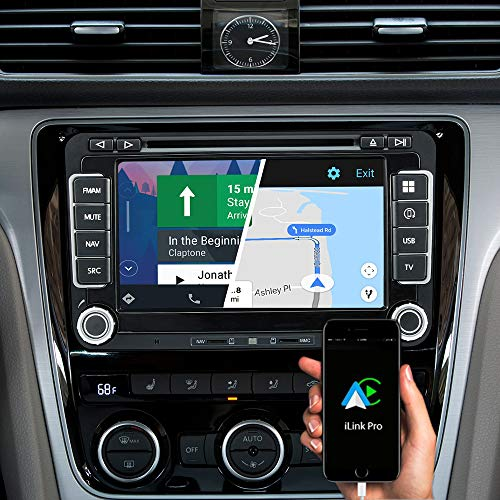 DYNAVIN N7-V7 Pro 7 inch autoradio Navi GPS navigatie voor VW Golf V VI Polo CC Jetta Tiguan Skoda Seat: ondersteuning van DAB + digitale radio iOS Android Auto BT achteruitrijcamera Ready USB