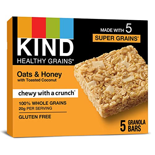 6-Pack Kind Healthy Grains Bars, Oats & Honey Now $14.97 (Retail $25.50)