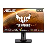 "ASUS TUF Gaming VG279QM 27"" HDR Monitor, 1080P Full HD (1920 x 1080) Fast IPS, 280Hz, G-SYNC Compatible, Extreme Low Motion Blur Sync (ELMB SYNC) 1ms, DisplayHDR 400, Eye Care, DisplayPort Dual HDMI"