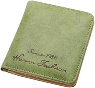 Luxurious Women Faux Leather Wallet Purse Clutch Wallet Card Holder,Colour:Coffee (Color : Green)