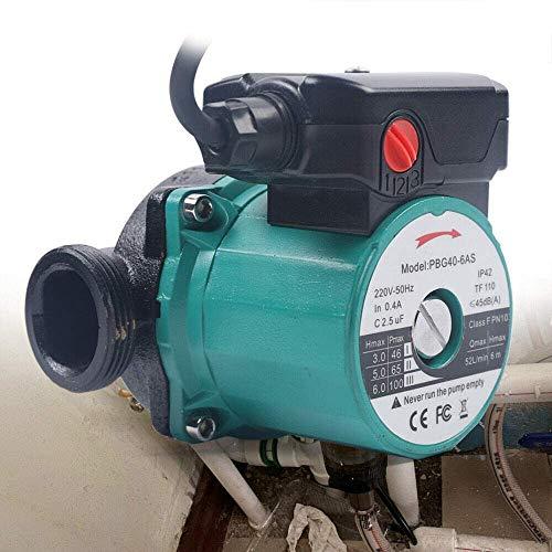 Bomba de circulación, 25-60/120 mm, aluminio, bomba de circulación para calefacción, agua caliente, bomba de circulación para calefacción de suelo, bomba de circulación de aire acondicionado.