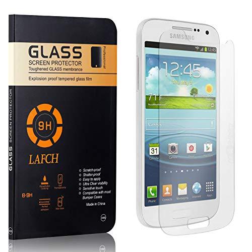 1 Stück Panzerglasfolie Schutzfolie Kompatibel mit Galaxy S4 Mini, LAFCH HD Klar Gehärtetem Glas Displayschutzfolie für Samsung Galaxy S4 Mini