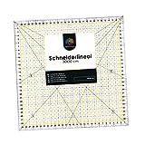 OfficeTree Regla Universal - Regla de Patchwork 30 x 30 cm arcillo -...