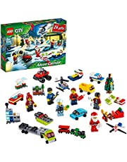 LEGO 60268 City Advent Calendar 2020 Christmas Mini Builds Set with Micro Vehicles, Santa Sleigh and Board