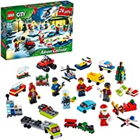 LEGO® City adventkalender 60268 met City speelmat, superleuk cadeau voor de feestdagen voor kinderen (342 onderdelen)