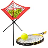 VGEBY Red de Bola Triangular Portátil Béisbol Softbol Práctica de bateo Trípode Estante de Bola con Bolsa de Almacenamiento