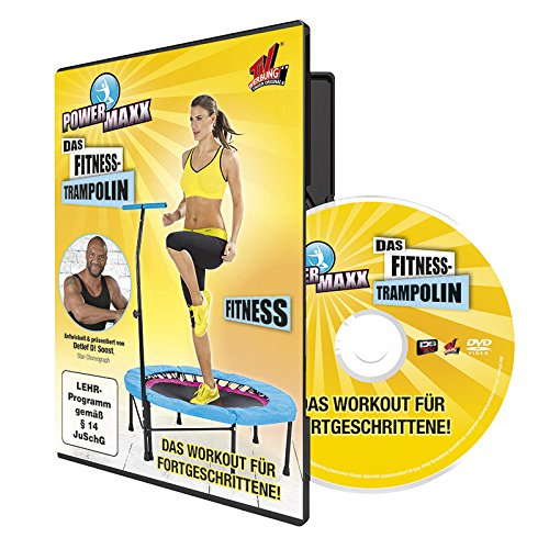 bester der welt TV Unsere Original Powermax Trampolin Fitness Trainings DVD, 00172 2021