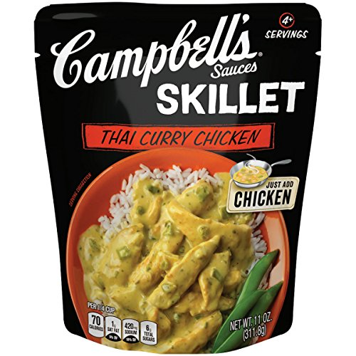 Campbell's Skillet Sauces, Thai Curry Chicken, 11 oz.