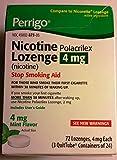 Perrigo Nicotine Polacrilex Lozenge 4mg ~ Mint Flavor ~ 72 count ~ Stop Smoking Aid