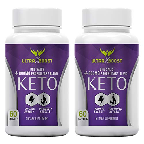(2-Packs) Ultra X Boost Keto, Ultra X Boost Keto Pill, BHB Salts + 800MG Proprietary Blend, Boosts Energy, Promotes Ketosis, The Office Brand Dietary Supplement