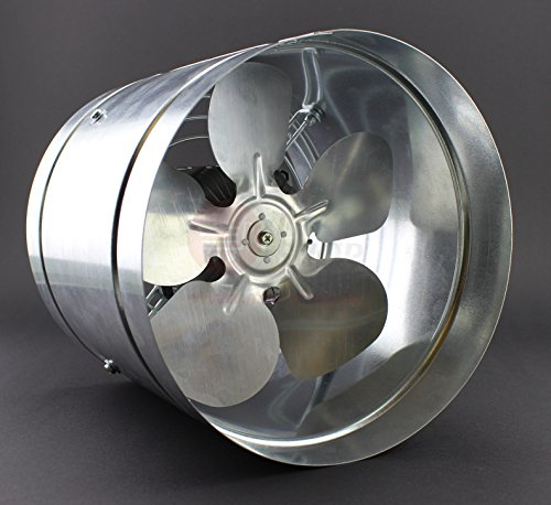 Ø 325 mm Axial Rohrventilator Rohrlüfter IP44 Lüfter 1220 m³/h WK Hochdruck Niederdruck Ventilator Zuluft Abluft Gebläse Metall Radialventilator Absauglüfter Absaugung