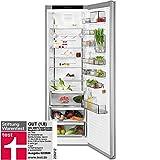 AEG RKE73924MX Freistehender Kühlschrank / 1850 mm / 358 L / CustomFlex® – flexibles Türablagesystem / Farbe: Edelstahl-Türen, Seiten / A++