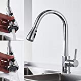 <span class='highlight'><span class='highlight'>Jetcloud</span></span> Chrome Swivel Sink Mixer Sprayer Modern Kitchen Tap Monobloc Single Lever Dual Ways Spout Pull Down Faucet