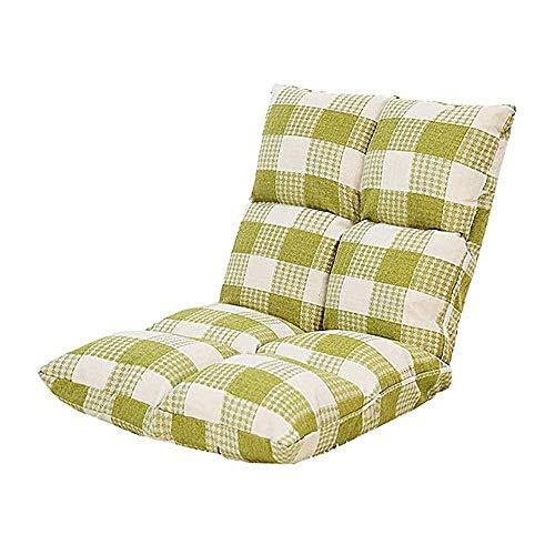 Haushaltsprodukte Lazy Sofa Memory Foam Matratze Doppelfaltbarer Sofaboden Comfort Mat Bett pro Pad Gäste Multifunktional (Farbe: Grün)