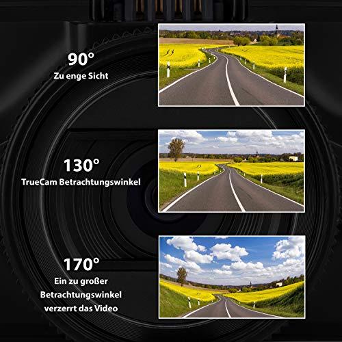TrueCam A7s GPS Professionelle Dashcam Autokamera 2K Super HD - 8