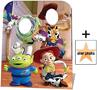 Fan Pack - Toy Story Stand-in (Child Size) Buzz, Woody and Jessie Lifesize Cardboard Cutout / Standee - Includes 8x10 (20x25cm) Star Photo