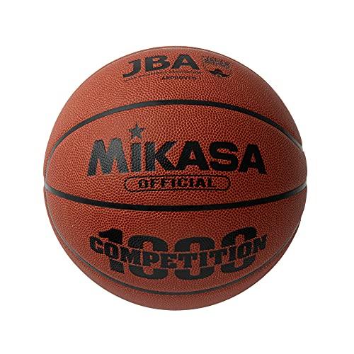 MIKASA Basketball BQ1000 - Pelota de Baloncesto (Outdoor, Indoor, Cuero), Color Naranja, Talla 7